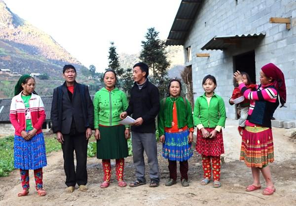Xây dựng nếp sống văn minh vùng dân tộc thiểu số ở huyện Mèo Vạc