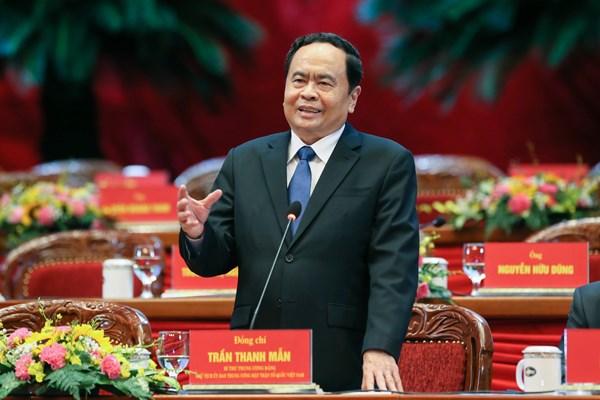 Tiểu sử Chủ tịch UBTƯ MTTQ Việt Nam khóa IX Trần Thanh Mẫn