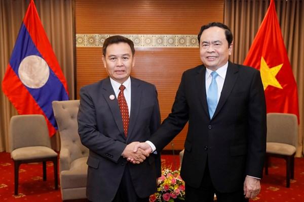 Tăng cường trao đổi, học tập kinh nghiệm về công tác dân tộc hai nước Việt Nam-Lào