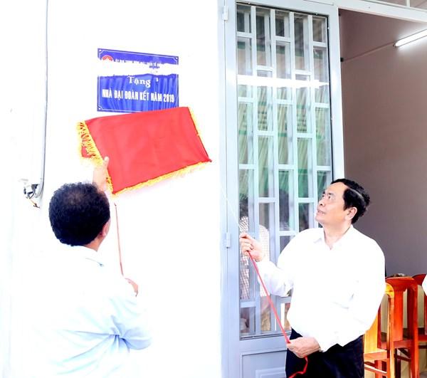 10 căn nhà đại đoàn kết trên quê hương Phong Điền