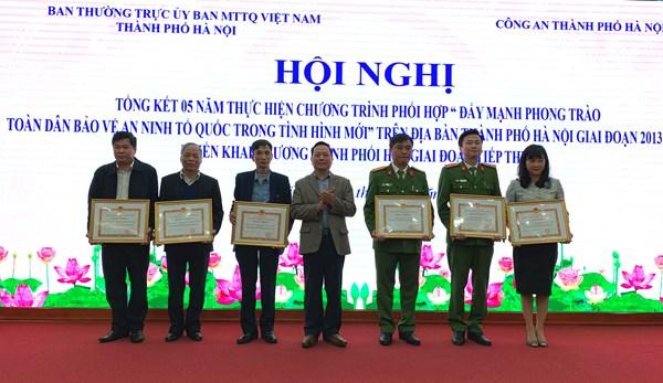 Hà Nội: Đẩy mạnh các hoạt động bảo vệ an ninh Tổ quốc