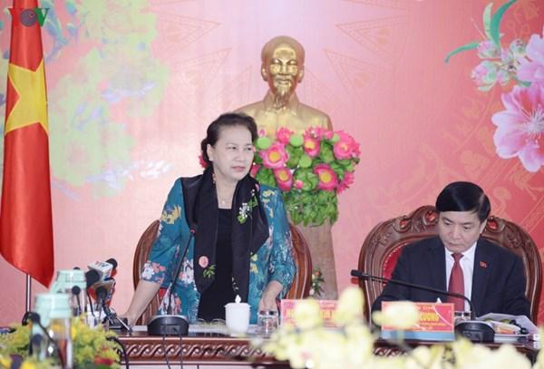 Chủ tịch Quốc hội làm việc với lãnh đạo tỉnh Đắk Lắk