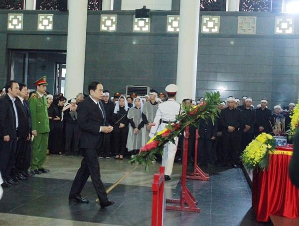 Tiễn biệt 3 chiến sĩ công an hy sinh tại Đồng Tâm