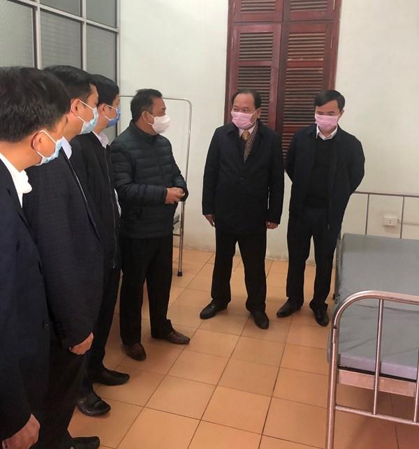 MTTQ tỉnh Bắc Giang: Kiểm tra công tác phòng, chống dịch bệnh do virus Corona