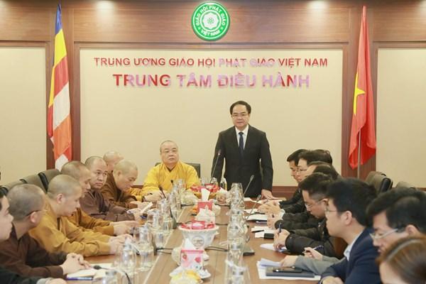 Đẩy mạnh phòng, chống dịch nCoV tại các cơ sở Phật giáo