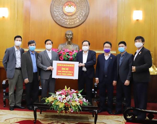 Hội thánh Tin Lành Việt Nam (miền Bắc) ủng hộ phòng, chống dịch COVID-19