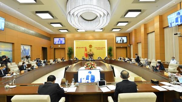Kỳ họp thứ 9 của Quốc hội: Họp trực tuyến và trực tiếp