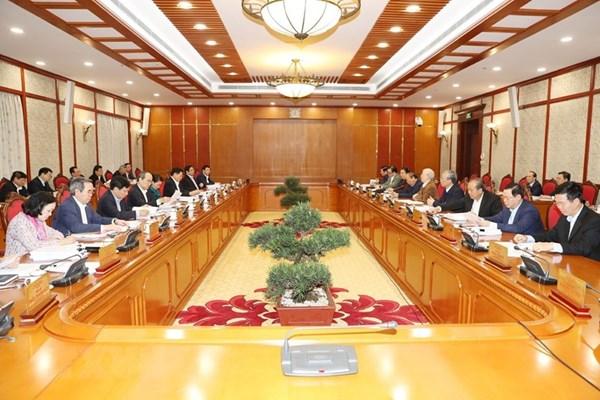 Kết luận của Bộ Chính trị về chủ trương khắc phục tác động của đại dịch COVID-19 để phục hồi và phát triển nền kinh tế