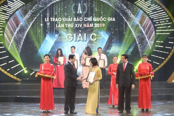 Lễ trao Giải Báo chí Quốc gia lần thứ XIV, năm 2019