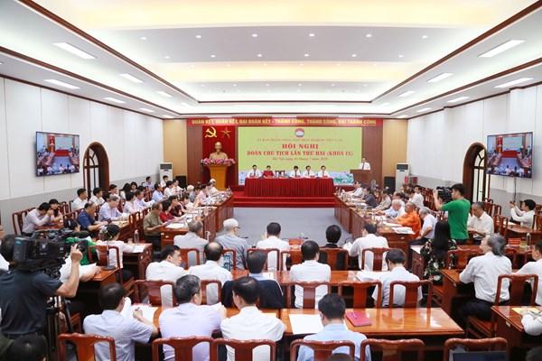 Khai mạc Hội nghị Đoàn Chủ tịch UBTƯ MTTQ Việt Nam lần thứ hai, khoá IX