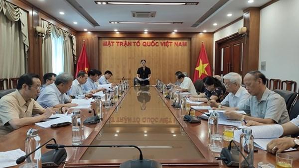 Góp ý Dự thảo Luật Lực lượng tham gia bảo vệ an ninh, trật tự ở cơ sở