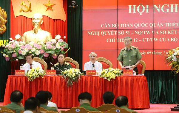 Bảo vệ vững chắc an ninh quốc gia trong tình hình mới