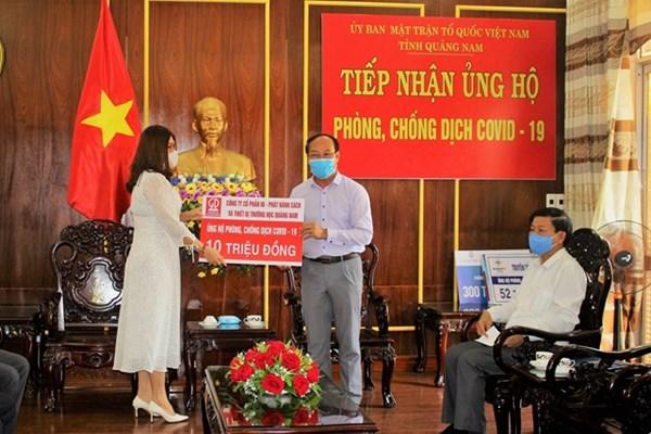 Quảng Nam: Chi 244 tỷ đồng hỗ trợ người gặp khó khăn do Covid-19