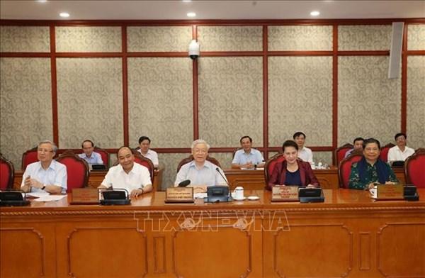 Tổng Bí thư, Chủ tịch nước Nguyễn Phú Trọng: Thanh Hóa phấn đấu phát triển toàn diện, là tỉnh kiểu mẫu
