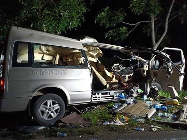 Chủ tịch Trần Thanh Mẫn gửi điện thăm hỏi tới các gia đình gặp tai nạn giao thông tại tỉnh Bình Thuận