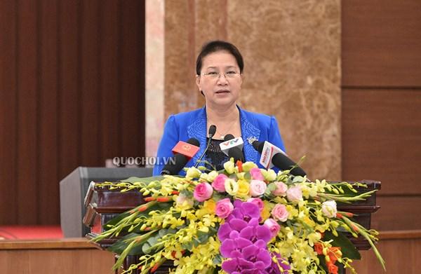 Đảng đoàn Quốc hội góp ý dự thảo báo cáo chính trị Đại hội Đảng bộ Hà Nội