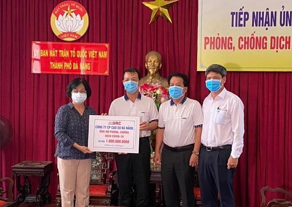 Đà Nẵng: Ủy ban MTTQ Việt Nam thành phố tiếp nhận hơn 2,5 tỷ đồng và nhiều hiện vật hỗ trợ chống dịch COVID-19