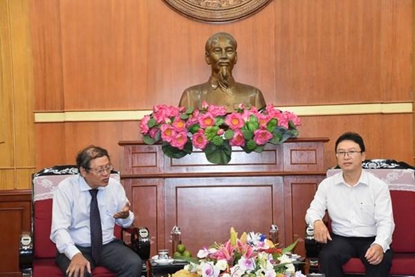 Đoàn Giáo hội Cơ đốc Phục lâm Việt Nam chào thăm UBTƯ MTTQ Việt Nam