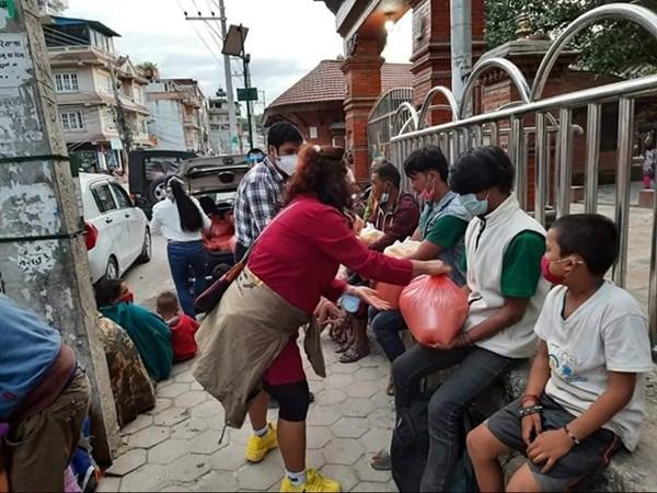 Nghĩa cử người Việt ở Nepal