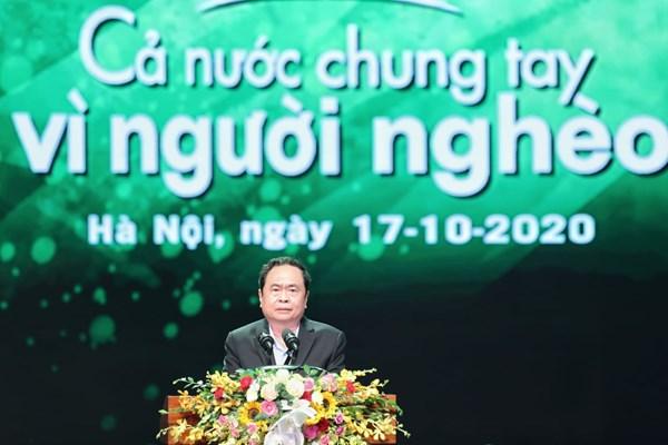 """Toàn văn bài phát biểu khai mạc của Chủ tịch Trần Thanh Mẫn tại chương trình """"Cả nước chung tay Vì người nghèo"""" năm 2020"""