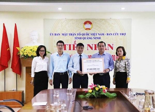 Quảng Ninh: Lan tỏa tấm lòng nhân ái, tất cả vì miền Trung