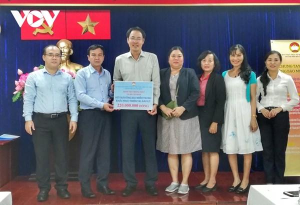 TP HCM tiếp nhận hơn 19,5 tỷ đồng và nhiều hàng hóa ủng hộ miền Trung