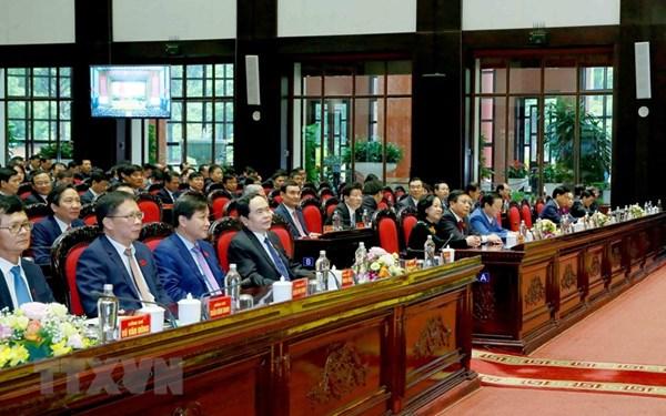 Bế mạc Đại hội đại biểu Đảng bộ Khối các cơ quan Trung ương
