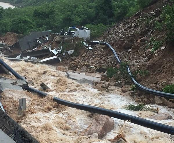 Thiệt hại do bão số 9 ở miền Trung đặc biệt lớn