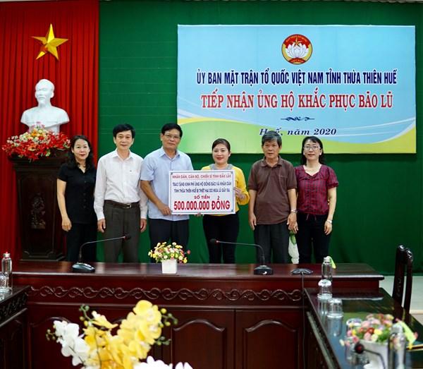 Thừa Thiên-Huế: Tiếp nhận trên 65 tỷ đồng tiền, hàng ủng hộ người dân bị thiệt hại do bão lũ