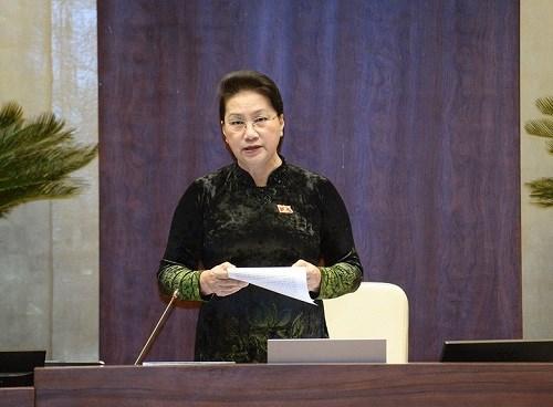 Chủ tịch Quốc hội: Chính phủ đã thể hiện tinh thần trách nhiệm cao