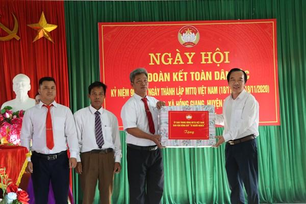 Bắc Giang: Rộn ràng ngày hội Đại đoàn kết toàn dân tộc