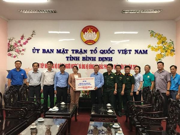 Bình Định: Phân bổ các nguồn hỗ trợ đồng bào miền Trung khắc phục bão lũ