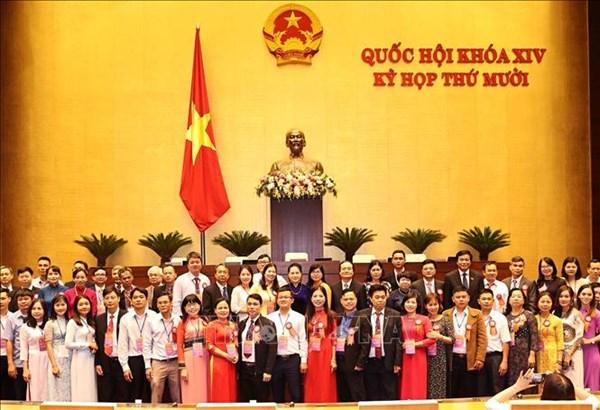 Chủ tịch Quốc hội gặp mặt 183 nhà giáo, cán bộ quản lý giáo dục tiêu biểu