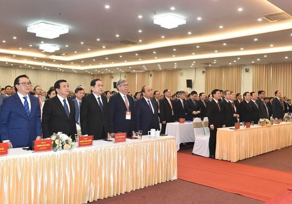 Chủ tịch Trần Thanh Mẫn dự Đại hội toàn quốc Liên hiệp các Hội Khoa học và Kỹ thuật Việt Nam