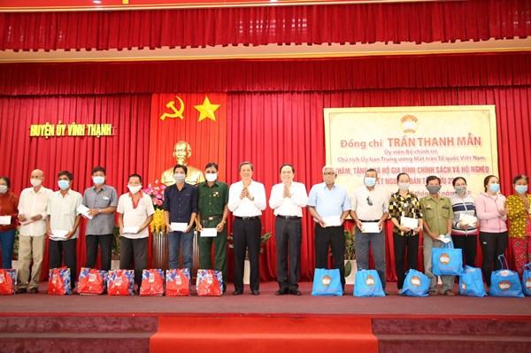 Hơn 10 triệu suất quà gửi tới người nghèo và gia đình chính sách trên cả nước nhân dịp Tết Nguyên đán