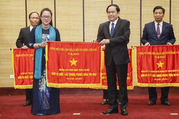 Chủ tịch Trần Thanh Mẫn dự Lễ phát động đợt thi đua cao điểm tổ chức thành công bầu cử đại biểu Quốc hội và HĐND các cấp
