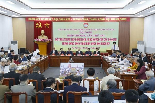 Những công việc cần triển khai sau Hội nghị hiệp thương lần thứ hai