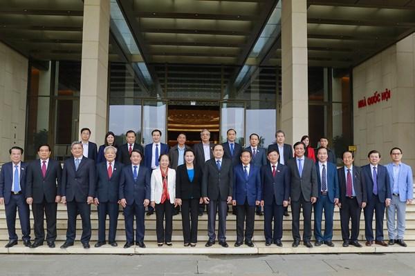 Đẩy mạnh công tác phối hợp giữa Ủy ban Thường vụ Quốc hội và Đoàn Chủ tịch UBTƯ MTTQ Việt Nam