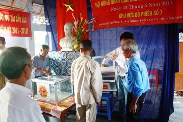 Quảng Nam: Đề nghị bầu cử sớm ở 6 xã biên giới