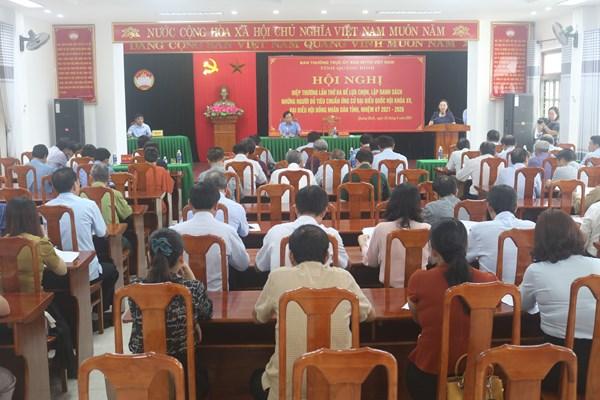 Quảng Bình: 2 đơn xin rút khỏi danh sách ứng cử đại biểu Quốc hội khóa XV