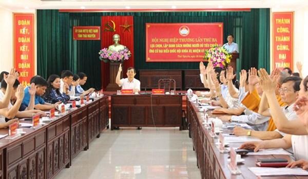 Thái Nguyên: 13 người ứng cử ĐBQH khóa XV