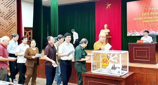Hải Dương: Thống nhất thông qua danh sách 13 người ứng cử đại biểu Quốc hội khóa XV