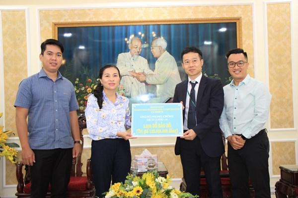 MTTQ thành phố Hồ Chí Minh tiếp nhận ủng hộ công tác phòng, chống dịch Covid-19