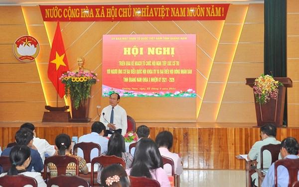 Bến Tre, Quảng Nam, An Giang: Bảo đảm tiến độ và quy trình bầu cử