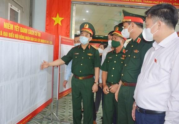 Hội đồng bầu cử Quốc gia kiểm tra công tác bầu cử tại Lâm Đồng, Bắc Kạn và Gia Lai