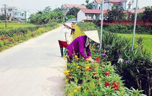 Phụ nữ huyện Sóc Sơn chung tay bảo vệ môi trường