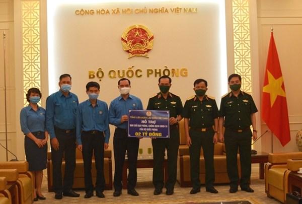Tổng Liên đoàn Lao động Việt Nam: Tri ân tuyến đầu phòng, chống dịch