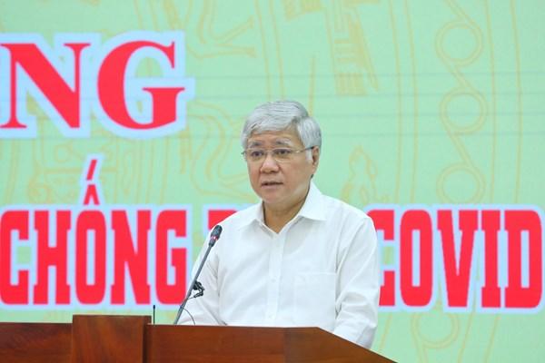 """Toàn văn Lời kêu gọi """"Toàn dân đoàn kết, ra sức phòng, chống dịch bệnh Covid-19"""" của Đoàn Chủ tịch UBTƯ MTTQ Việt Nam"""