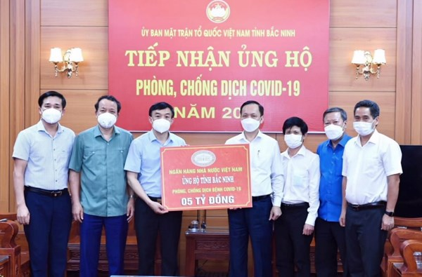 Góp thêm nguồn lực để Bắc Ninh đẩy lùi dịch bệnh
