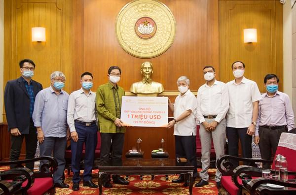 UBTƯ MTTQ Việt Nam phân bổ số tiền 46 tỷ đồng hỗ trợ công tác phòng, chống dịch
